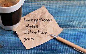 Focus energy on tasks that matter